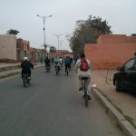 Bicycle at Marrakech