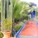 Jardin Majorelle Blue House and Path