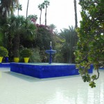 Jardin Majorelle Fountain