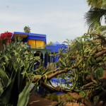 Jardin Majorelle Fountain and House