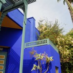 Jardin Majorelle House and Palm Tree