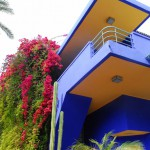 Jardin Majorelle House from below