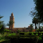 Les Jardins De La Koutoubia in the shadow