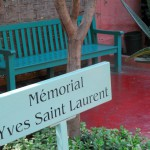 Memorial of Yves Saint Laurent and Couch