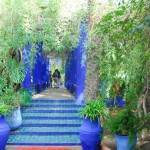 The Blue and Green of Jardin Majorelle